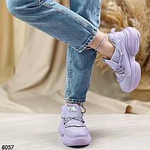 Кросівки фіолетові жіночі, фото 3