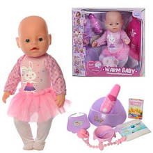 """Пупс """"Baby"""" с магнитной соской (Warm baby) арт. 057 A-580"""