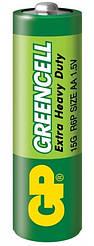 Батарейка GP Greencell 15G, R6P, АА, 1.5 V, 1 шт.