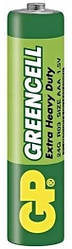 Батарейка GP Greencell 24G, R03, ААА, 1.5 V, 1 шт.