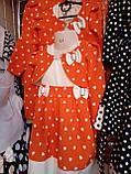 Дитячий нарядний комплект Олена сукню з болеро 2-5 років, фото 6