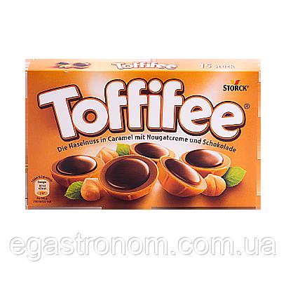 Цукерки Тоффі Toffifee 125g 5шт/ящ (Код : 00-00001501)