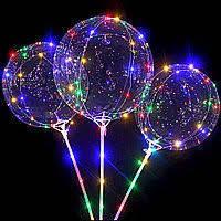 Воздушный светодиодный шар Bobo led, фото 1