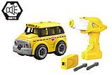 Автобус. Крутейшая игрушка-конструктор на р/у для малышей. HUINA LM8092, фото 2