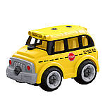 Автобус. Крутейшая игрушка-конструктор на р/у для малышей. HUINA LM8092, фото 4