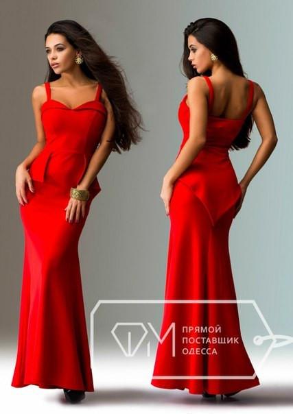 71079913985 Элегантное вечернее длинное женское платье