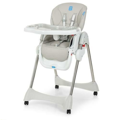 Дитячий стільчик для годування Bambi M 3216-11, сірий