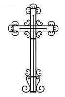 Крест на кладбище, фото 1