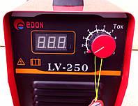 Инверторный сварочный аппарат Edon LV-250, (HOT START, ANTI STICK, ARC FORCE)