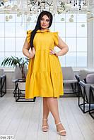 Вільний лляне плаття жіноче, фото 1