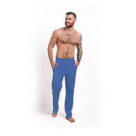 Штаны для дома хлопок синий