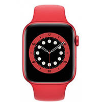 Смарт-годинник Apple Watch Series 6 44mm PRODUCT(RED) Aluminum Case with Red Sport Band (M00M3)