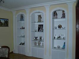Мебель из гипсовой пепнины