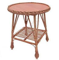 Плетеная мебель, Журнальный Столик С Косой