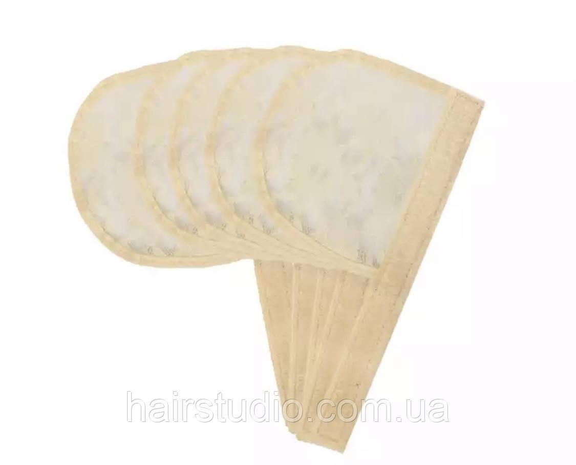 Сітка для виготовлення перук хвоста-шиньйон бежевого кольору