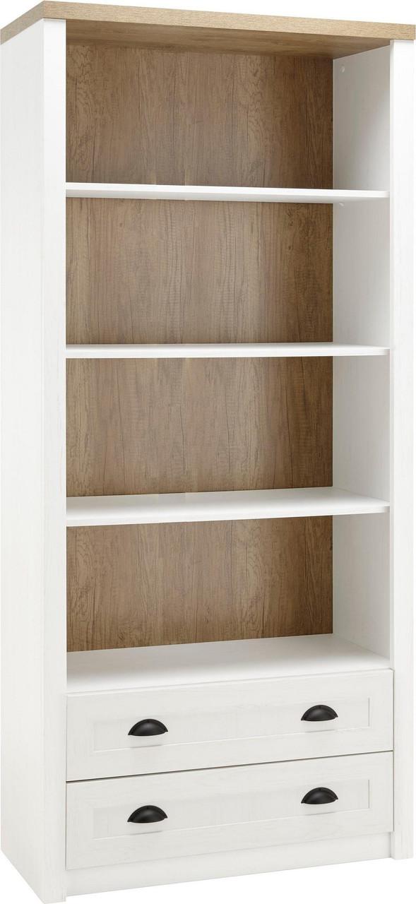 Книжный стеллаж из дерева 090