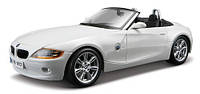 Автомодель BburagoBijoux BMW Z4 (ассорти белый,серый металлик,1:24)