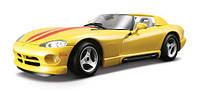 Автомодель BburagoBijoux DODGE VIPER RT/10 (ассорти белый,желтый,1:24)