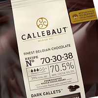 Шоколад гіркий №70 (Strong), 70% (Barry Callebaut),500 гр.