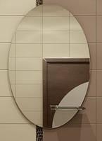 Зеркало с полкой 77 х 55 см