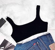 Базовый топ ТМ Exclusive, летняя молодежная одежда.