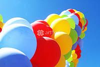 Оформление воздушными и гелиевыми шарами