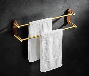 Вешалка для полотенец в ванную комнату. Модель RD-353