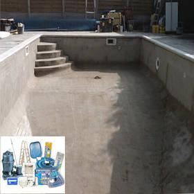 Комплекты оборудования для бетонных бассейнов