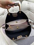 Стильная  женская сумка из натуральной замши и экокожи, фото 8