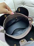 Стильная  женская сумка из натуральной замши и экокожи, фото 7
