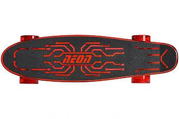 Скейтборд Neon Hype Червоний
