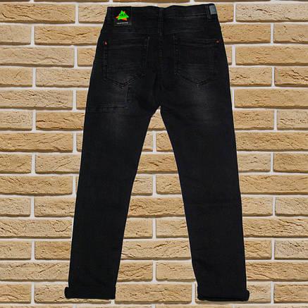 Стильные джинсы Мом для мальчика 134-152 рост черные, фото 2
