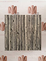 Декоративна 3Д панель самоклейка для стін чорно-біла 70*70 см 6 мм NNDesign