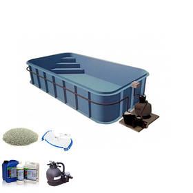 Комплекты оборудования для полипропиленовых бассейнов