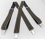 Чорні широкі чоловічі підтяжки (Польща), фото 4