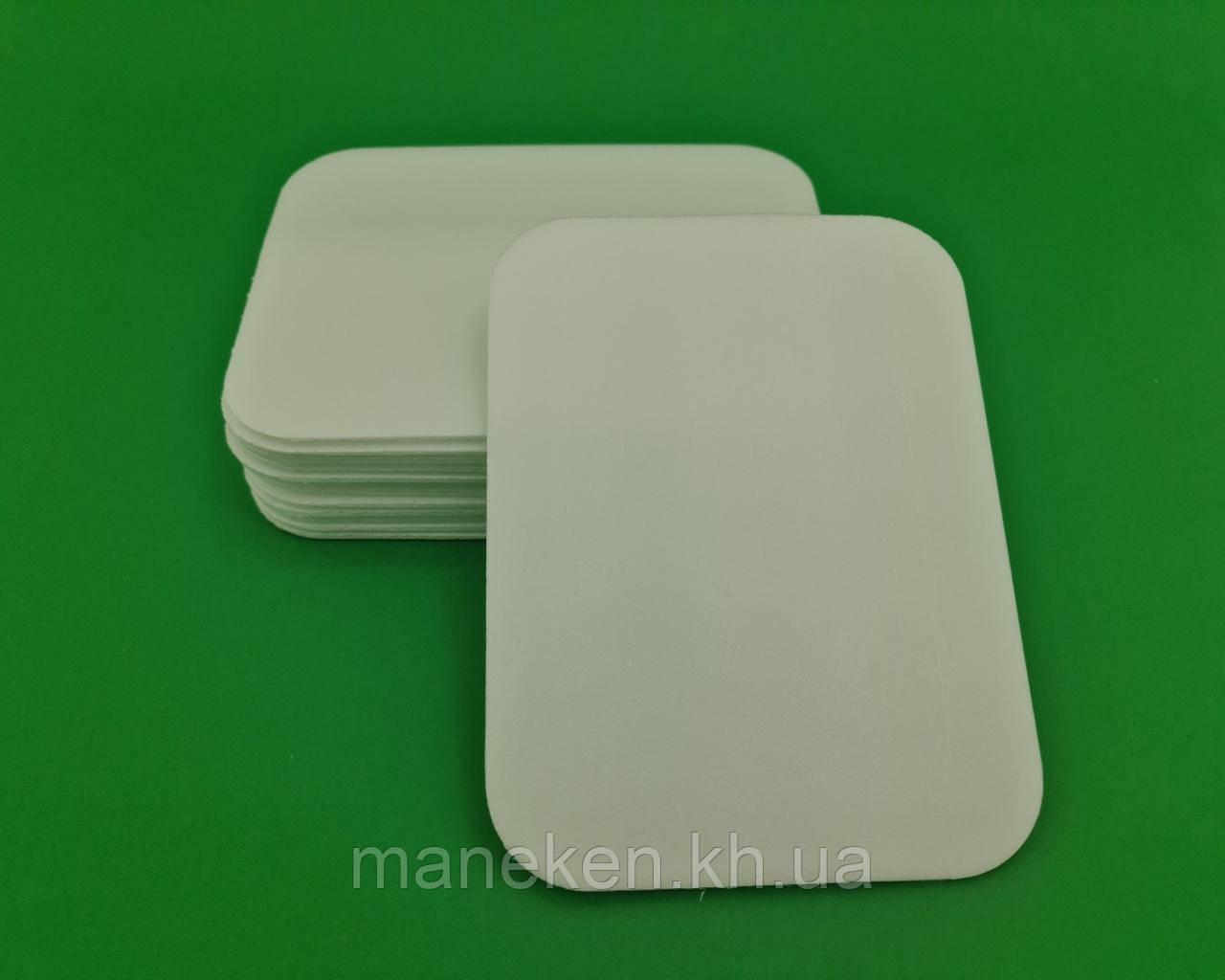 Підкладка (лотки) зі спіненого полістиролу (178*133*П) Т-4-П плоский (500 шт)