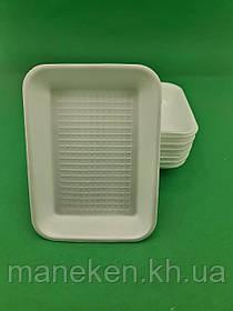 Підкладка (лотки) зі спіненого полістиролу (210*155*30) T-2-30 (200 шт)