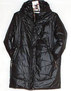Весняно осіння жіноча куртка великих розмірів 50-60