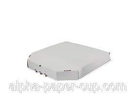 Коробка для пиццы белая 350*350*42, 100 шт/уп, 30 уп/палет.