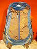 Рюкзак туристический городской спортивный Kaixio 22007 40 литров серо-голубой, фото 2