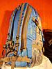 Рюкзак туристический городской спортивный Kaixio 22007 40 литров серо-голубой, фото 3
