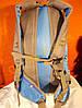 Рюкзак туристический городской спортивный Kaixio 22007 40 литров серо-голубой, фото 5