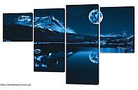 Модульная картина 130х80 см (МК-014)