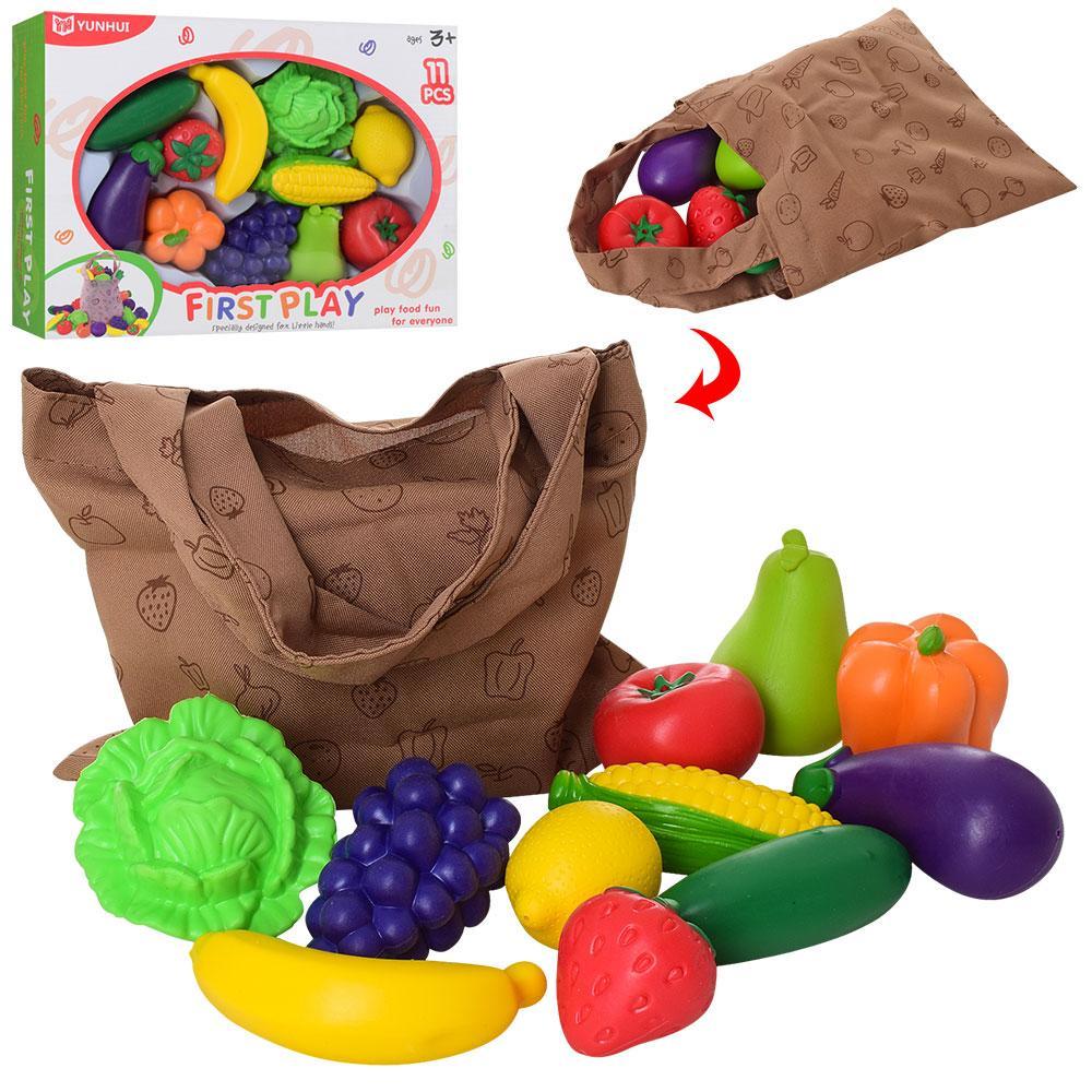 Игрушечные продукты овощи и фрукты YH8029