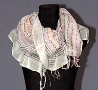 Микс женские шарфики и платки. Сток одежды