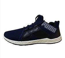 Кроссовки мужские текстильные синие 40,42 размер, фото 3