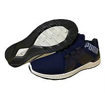 Кроссовки мужские текстильные синие 40,42 размер, фото 2