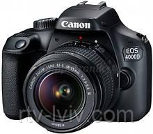 Фотоаппарат Canon EOS 4000D + EF-S 18-55 DC III