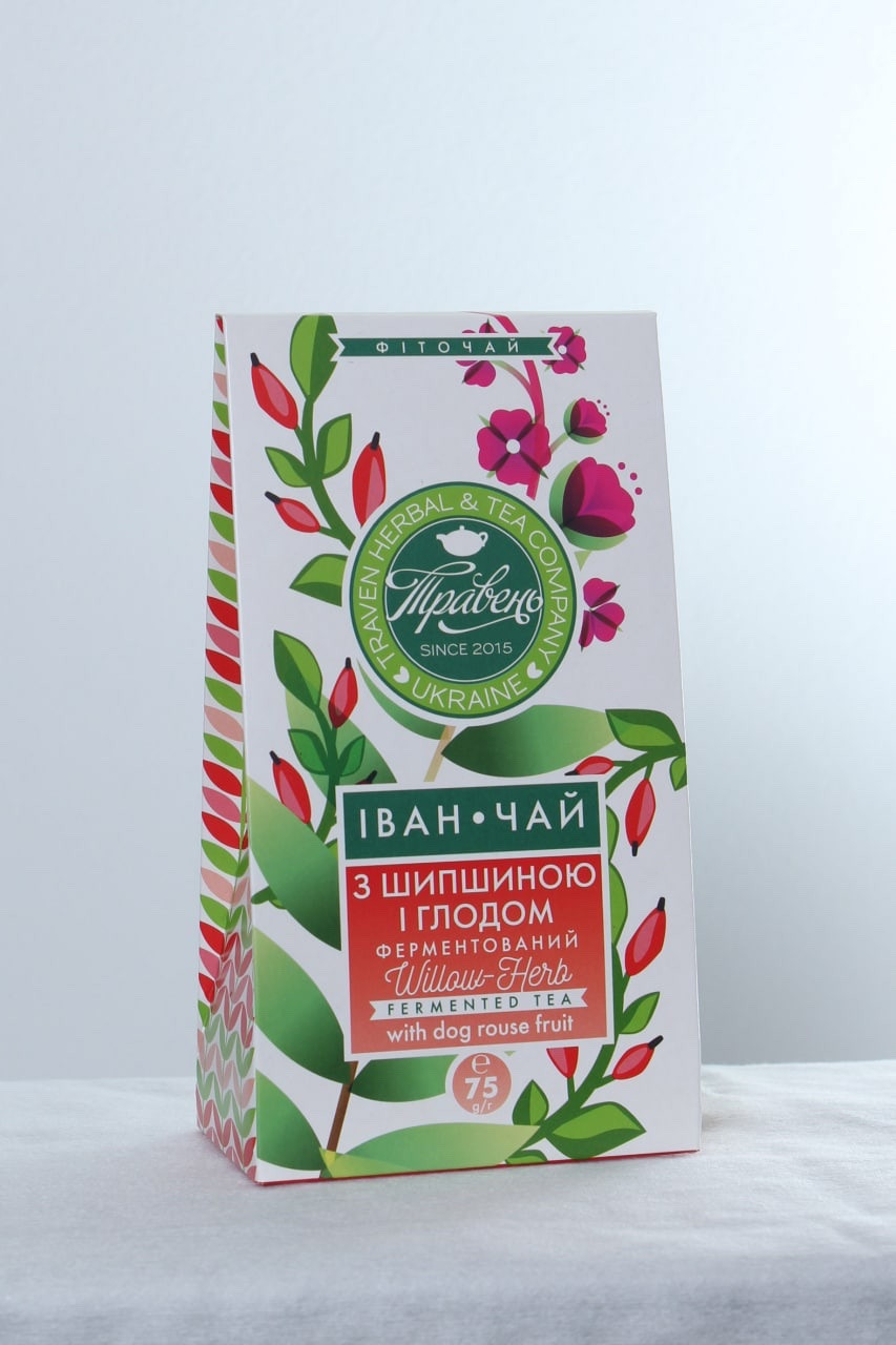 Чай Иван чай з шипшиною шглодом ТМ Травень