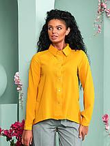 """Асимметричная женская рубашка """"Willow"""" с длинным рукавом (10 цветов), фото 3"""